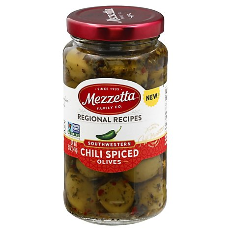 Mezzetta Olive Chili Spiced - 5 OZ