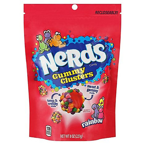 Nerds Gummy Cluster - 8 OZ