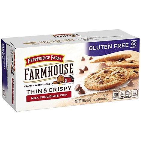 Pepperidge Farm Gluten Free Milk Chocolate Cookies - 5.9 OZ