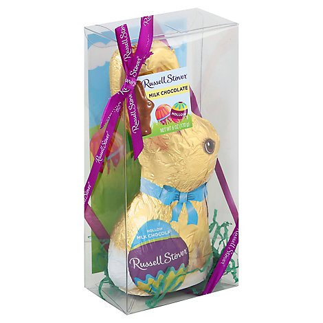 Russell Stover Hollow Chocolate Bunny - 6 OZ