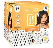 Hello Bello Club Box Diapers Size 6 Bolt Babes - 54 CT
