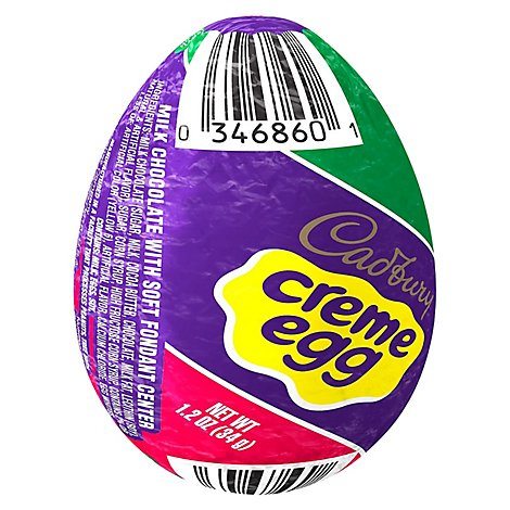 Cadbury Creme Egg Milk Choc - 1.2 OZ