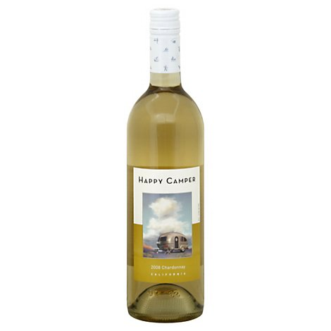 Happy Camper Chardonnay Wine - 750 ML