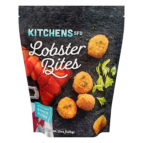 Kitchens Seafood Lobster Bites - 15 OZ