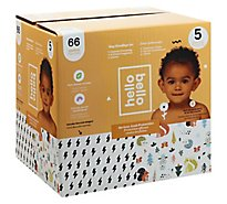 Hello Bello Club Box Diapers - Bolt Babes & Woodland Animals - 66 CT