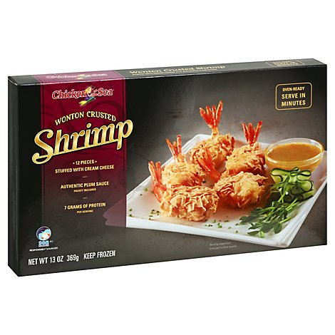 Shrimp Wonton Crusted - 13 OZ