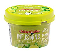 Chicken of the Sea Infusions Tuna Cilantro & Lime - 2.8 Oz