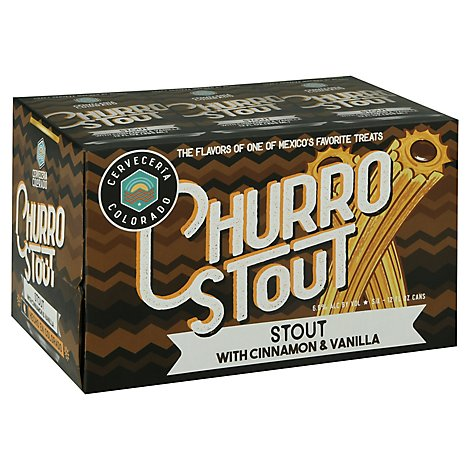 Denver Beer Cerveceria Co Churro Stout In Cans - 6-12 FZ
