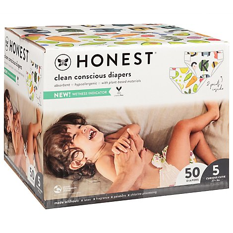 Honest Club Box Size 5 So Delish All The Letter - 50 CT