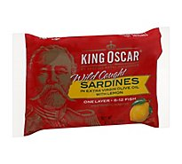King Oscar Sardines In Lemon - 3.75 OZ