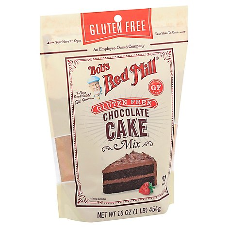 Bobs Red Mill Mix Cake Chocolate - 16 OZ