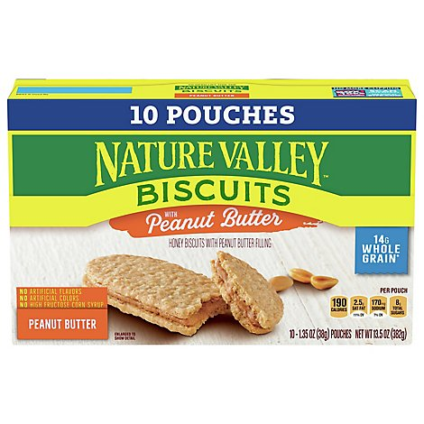 Nature Valley Biscuits Peanut Butter - 13.5 OZ