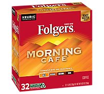 Folgers Coffee Morning Cafe K-cup - 32 CT