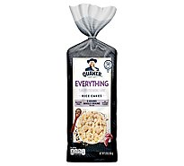 Quaker Rice Cakes Everything Flavor - 5.9 OZ