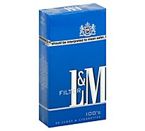 L&m Blue Pack 100s Box Cigarettes - CTN