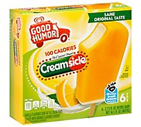 Good Humor Ice Cream Creamsicle Bar - 6-2.75 FZ