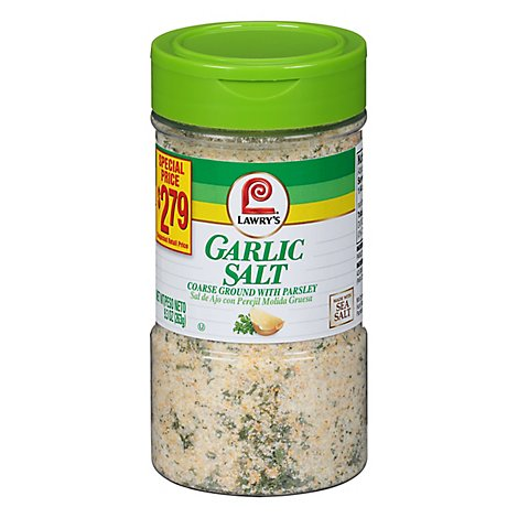 Lawrys Garlic Salt With Parsley - 9.3 OZ