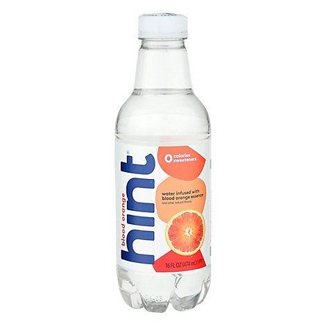 hint Water Infused With Blood Orange - 16 Fl. Oz.