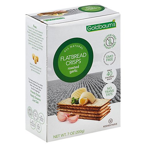 Goldbaums Garlic Flatbread - 5.29OZ