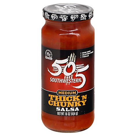 505 Southwestern Thick And Chunky Medium Salsa - 16 OZ