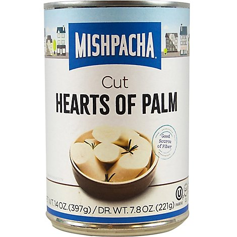 Mishpacha Hearts Of Palm Cut - 14 OZ