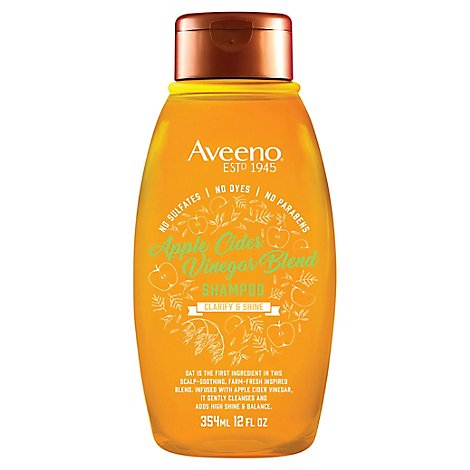 Aveeno Shampoo Apple Cider Vinegar - 12 FZ