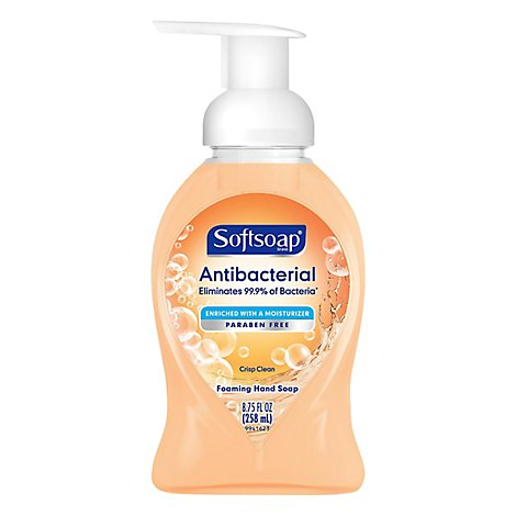 Softsoap Antibacterial Crisp Clean Foaming Hand Soap - 8.75 OZ