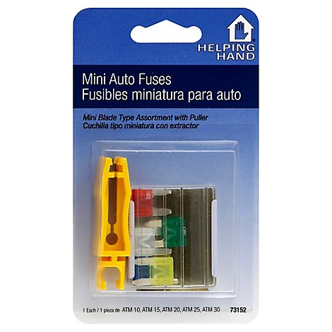 Helping Hand Mini Auto Fuses Atm - EA
