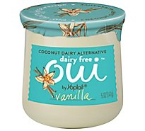 Oui By Yoplait Dairy Free Frnch Van Yogurt - 5 OZ