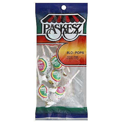 Paskeza Large Blow Pops - 4 OZ