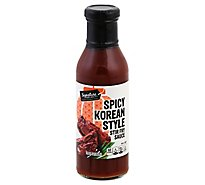 Signature Select Sauce Stir Fry Spicy Korean - 11.8 FZ