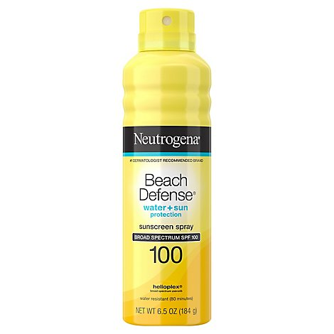 Neutrogena Beach Defense Spray Spf100 - 6.5 OZ