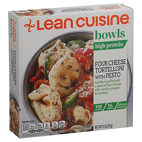 Lean Cuisine Four Cheese Pesto Tortelloni Bowl - 11 OZ
