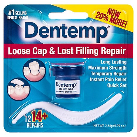 Dentemp Loose Cap & Lost Filling Repair - .08 OZ