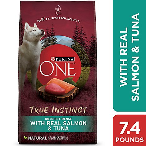 One Dog Food Dry Smartblend Salmon & Tuna - 7.4 Lb