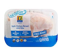 O Organics Chicken Breasts Split Air Chill - LB