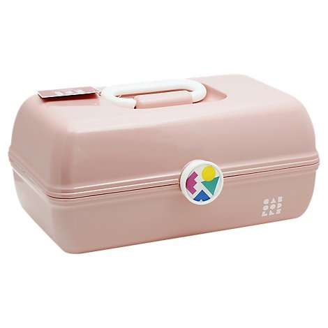 Caboodle On The Go Girl Cosmetic Organizer Light Pink - EA