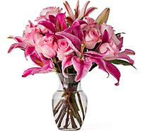Debi Lilly Deluxe Unforgettable Dozen Rose Arrangement With Vase - Each (flower colors and vase will vary)