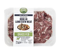 Open Nature Lamb For Stew Bone In - 1.00 Lb