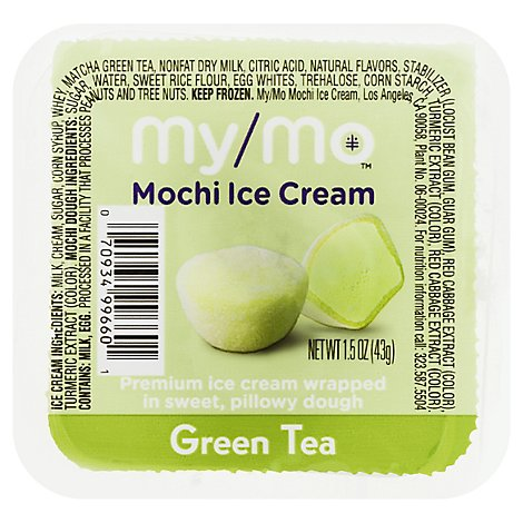 My/mo Mochi Ice Cream-green Tea - 1.5 OZ
