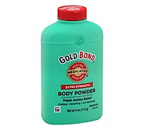 Gold Bond Extra Strength Triple Action Relief Body Powder - 4 OZ