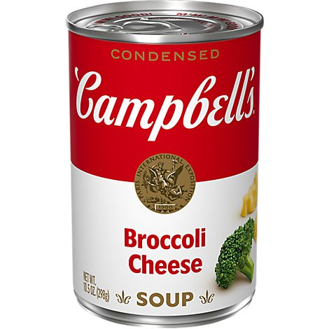 Campbells Broccoli Cheese Condensed Soup - 10.5 OZ