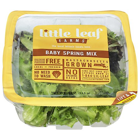 Little Leaf Farms Spring Mix - 4 OZ