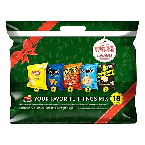 Frito Lay Snacks My Favorite Things Mix 16.5 Ounce - 18 CT