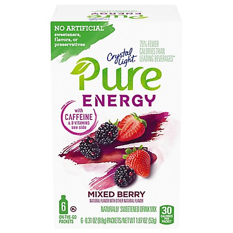 Crystal Light Pure Energy Mix Berry - 1.8 OZ