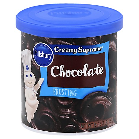 Plsbry Chocolate Frst - 16 OZ
