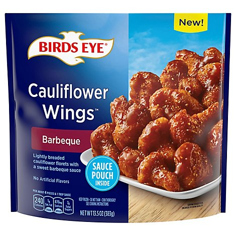 Be Barbeque Clflwr Wings Fz Veg - 13.5 OZ