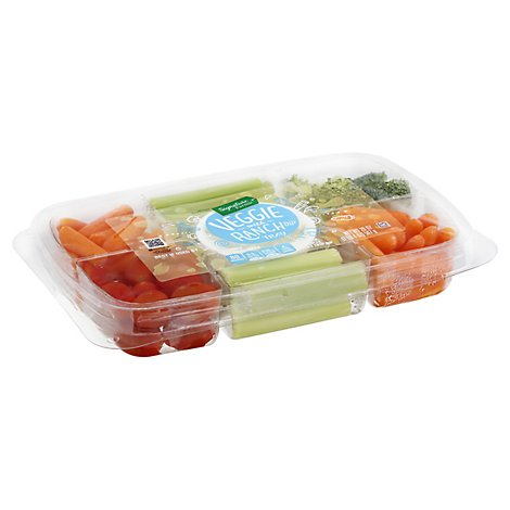 Signature Farms Veggie Tray W/dip - 20 OZ