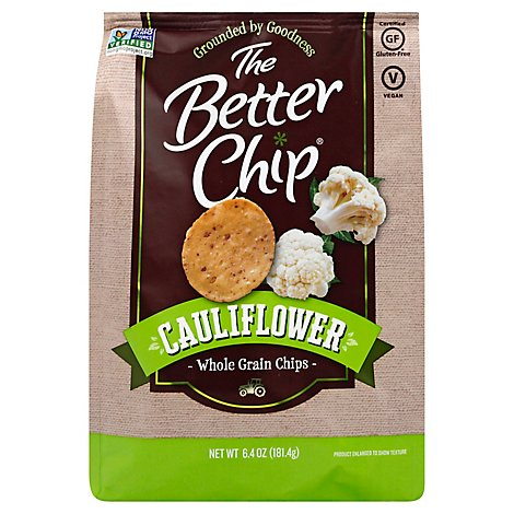The Better Chip Cauliflower Tortilla Chips - 6.4 OZ