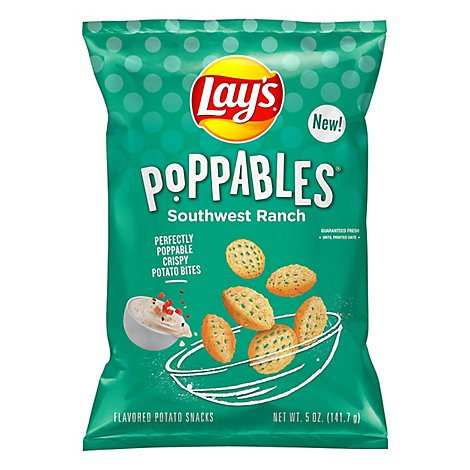 Lays Poppables Snacks Southwest Ranch - 5 OZ